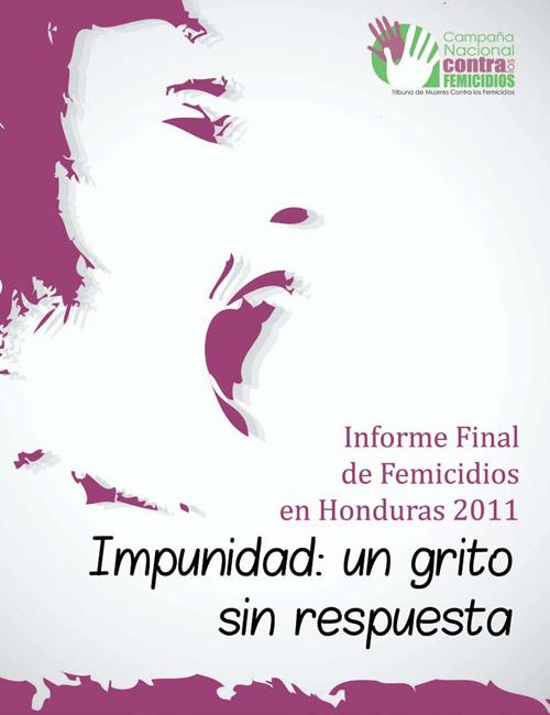 Informe sobre els feminicidis a Hondures