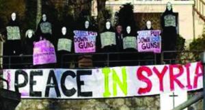 Vigília per a la Pau a Síria: Fora la guerra de la història