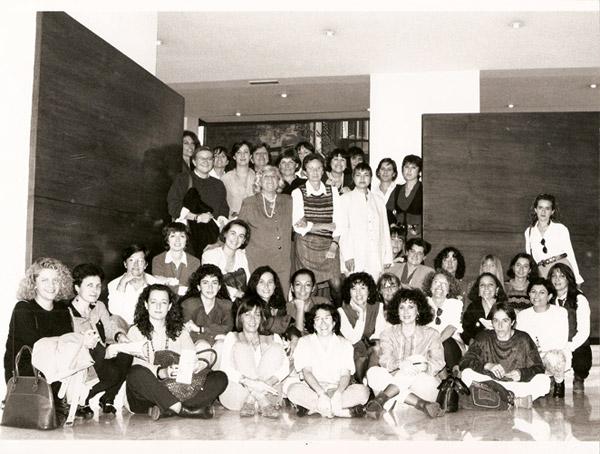 I Trobada Internacional de Dones Periodistes de la Mediterrània. Barcelona, 1995