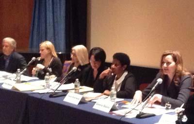 Geena Davis a l'ONU