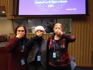 Beijing+20: Las Voces de las Mujeres Silenciadas en la Declaración Política sobre Derechos de las Mujeres