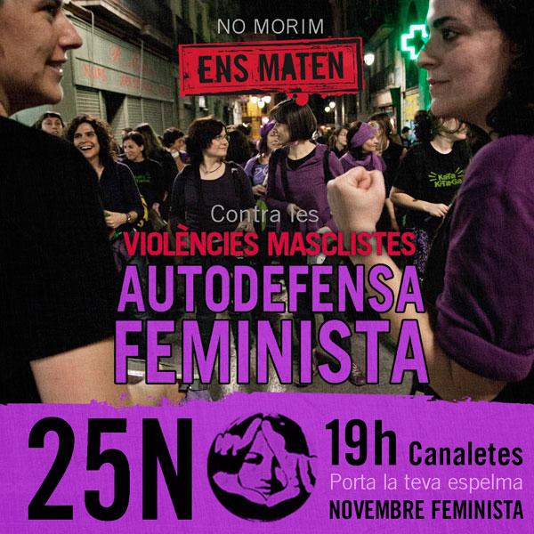 Marxa i manifest del 25N