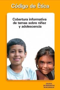 Codigo Ética Infancia, Colegio de Periodistas de Nicaragua