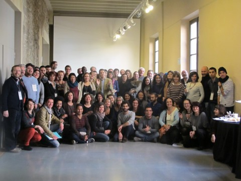 Foto de grup del III Fòrum Internacional DevReporter Network