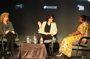 Diàleg entre Caddy Adzuba i Mònica Terribas