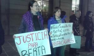 Concentració a Barcelona per l'assassinat de Berta Càceres