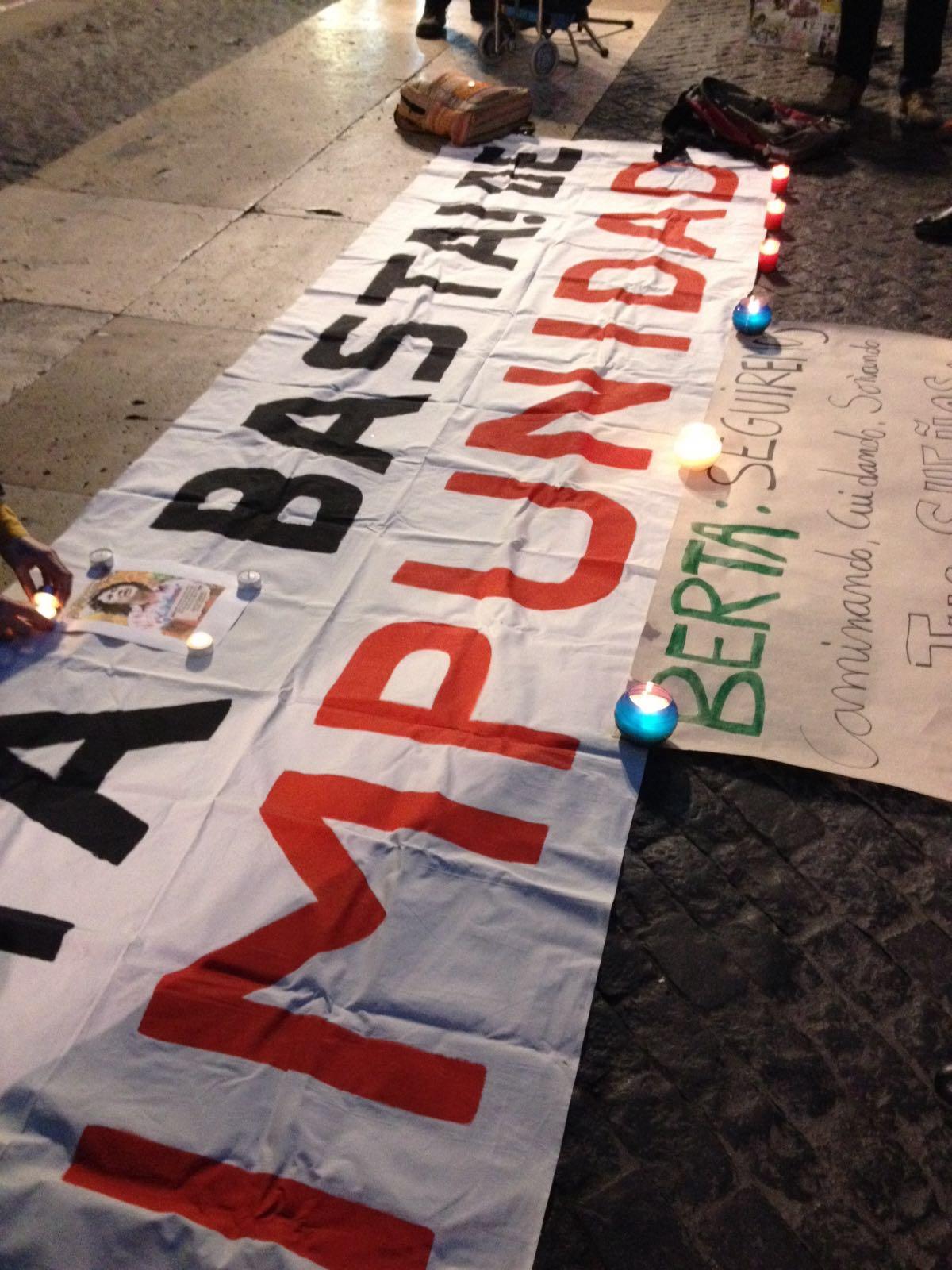 Concentració a Barcelona per l'assassinat de l'activista hondurenya Berta Càceres
