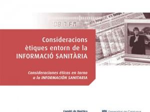 Consideracions ètiques entorn de la informació sanitària