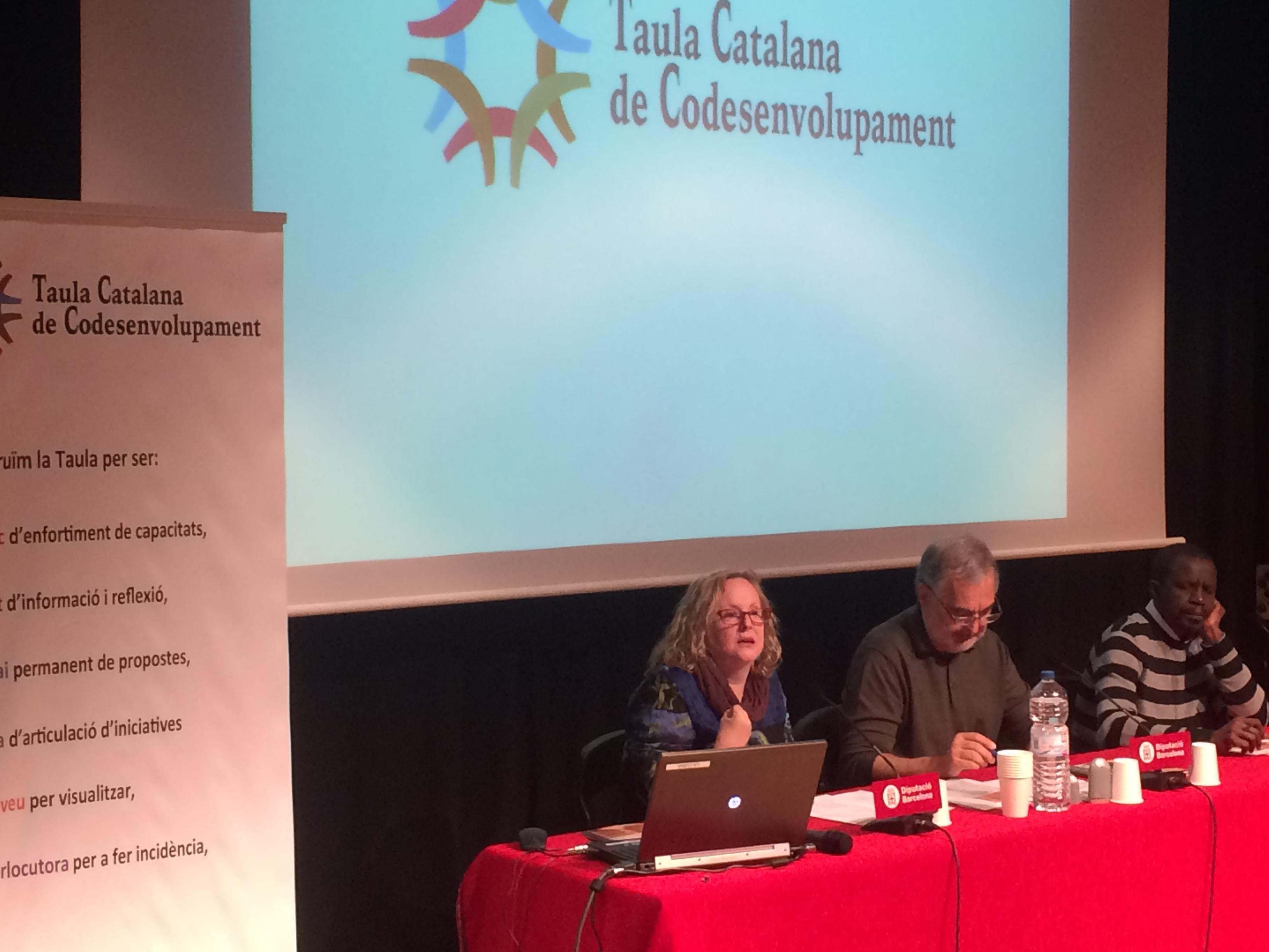 Es presenta la Taula Catalana de Codesenvolupament