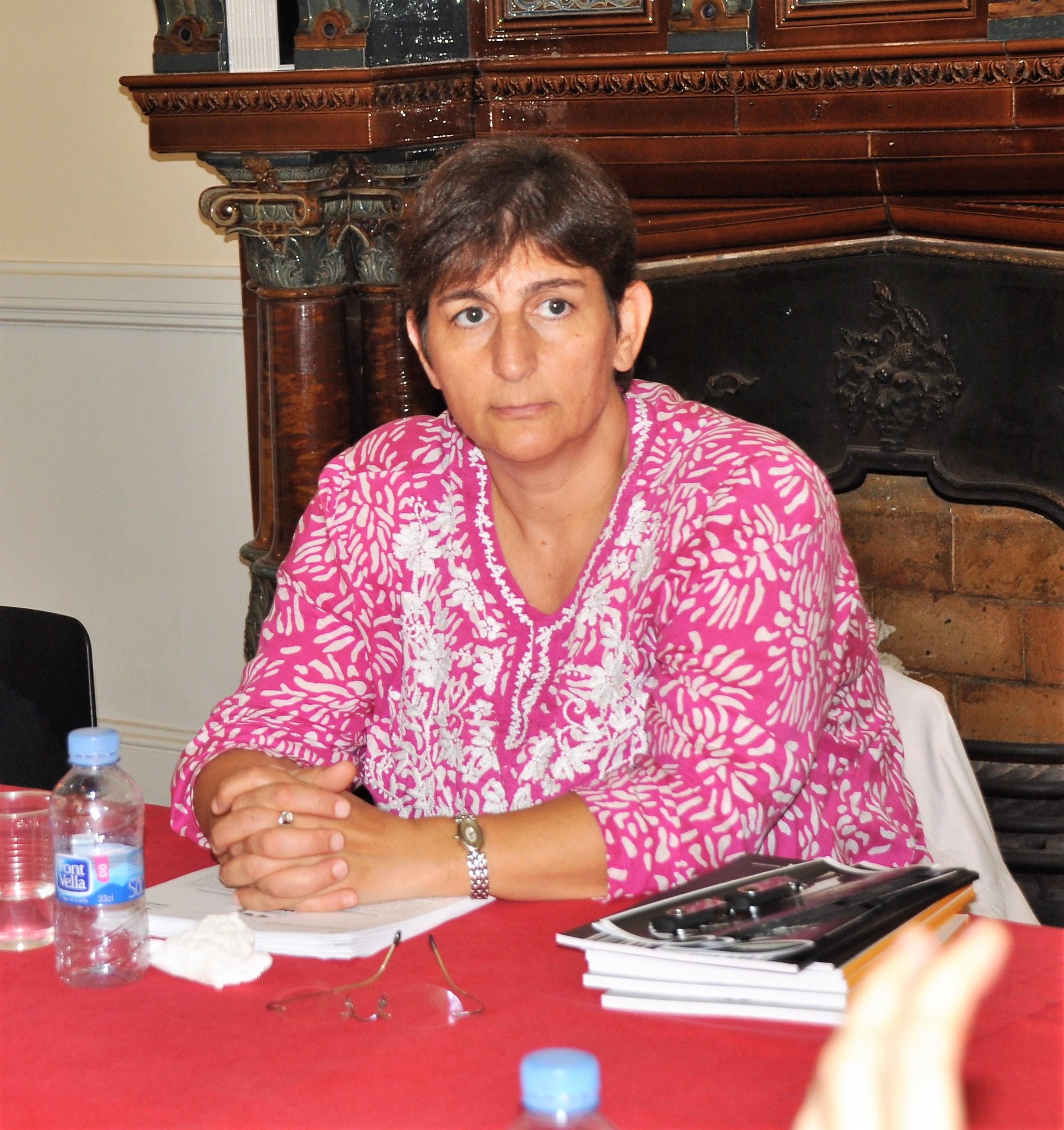 Activista palestina Sahar Francis
