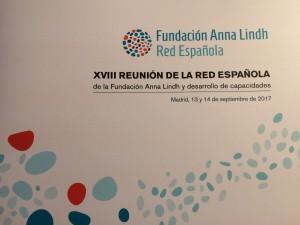 Reunió anual de la Xarxa Espanyola de la Fundació Anna Lindh