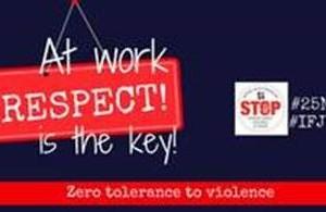 La FIP fa una crida contra la violència de gènere