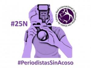 Campaña #PeriodistasSinAcoso
